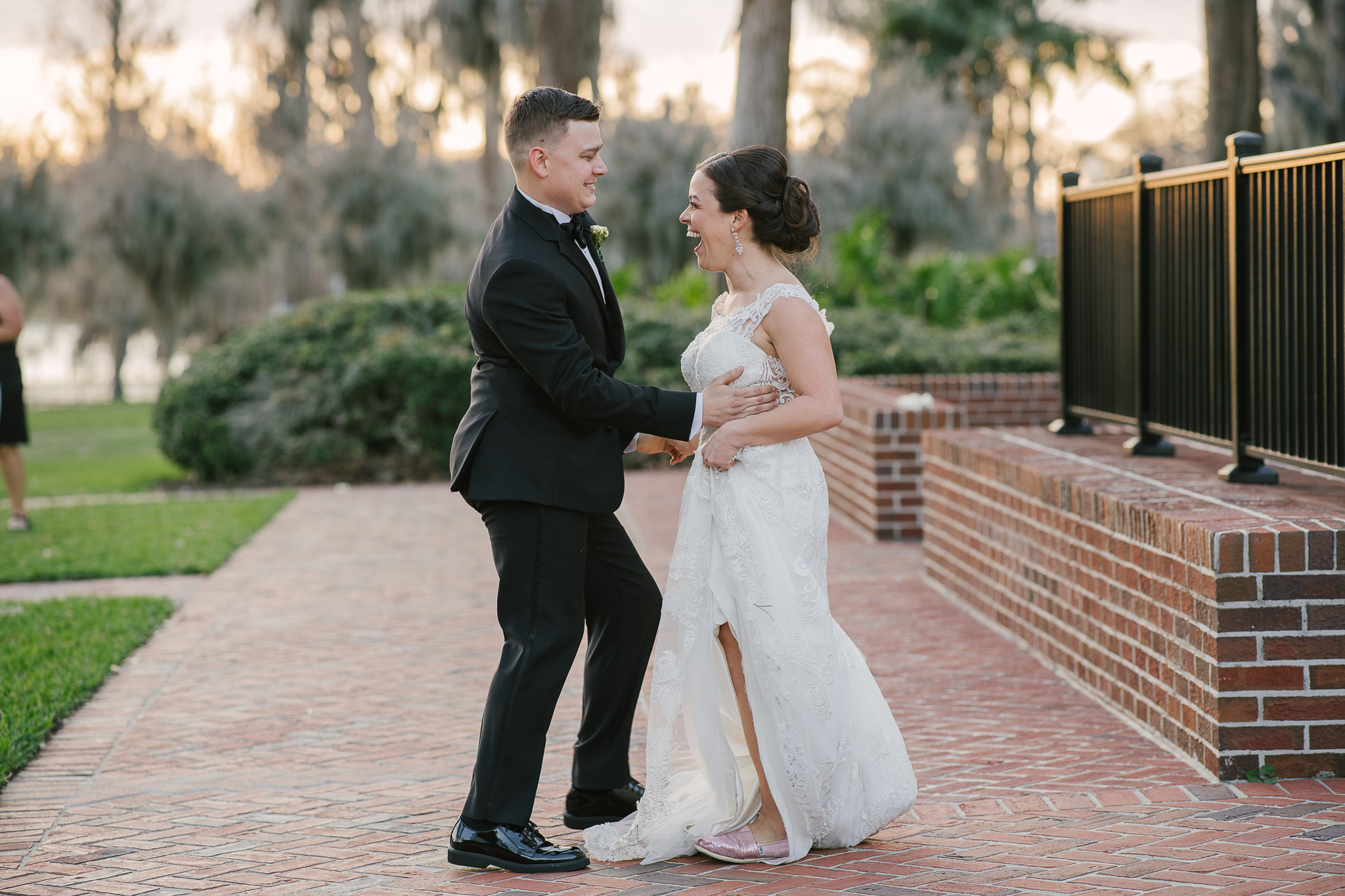Orlando Wedding Planner Blue Ribbon Weddings  Wedding Photographer Sunglow Photography, Dustin Prickett  Orlando Wedding Venue Cypress Grove Estate House Ceremony & Reception