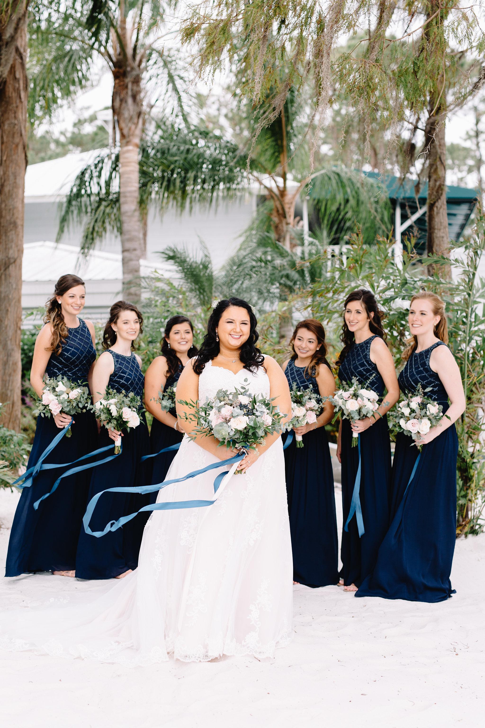 Orlando Wedding Planner Blue Ribbon Weddings  Orlando Wedding Photographer JP Pratt Photography  Wedding Ceremony & Reception at Paradise Cove Orlando
