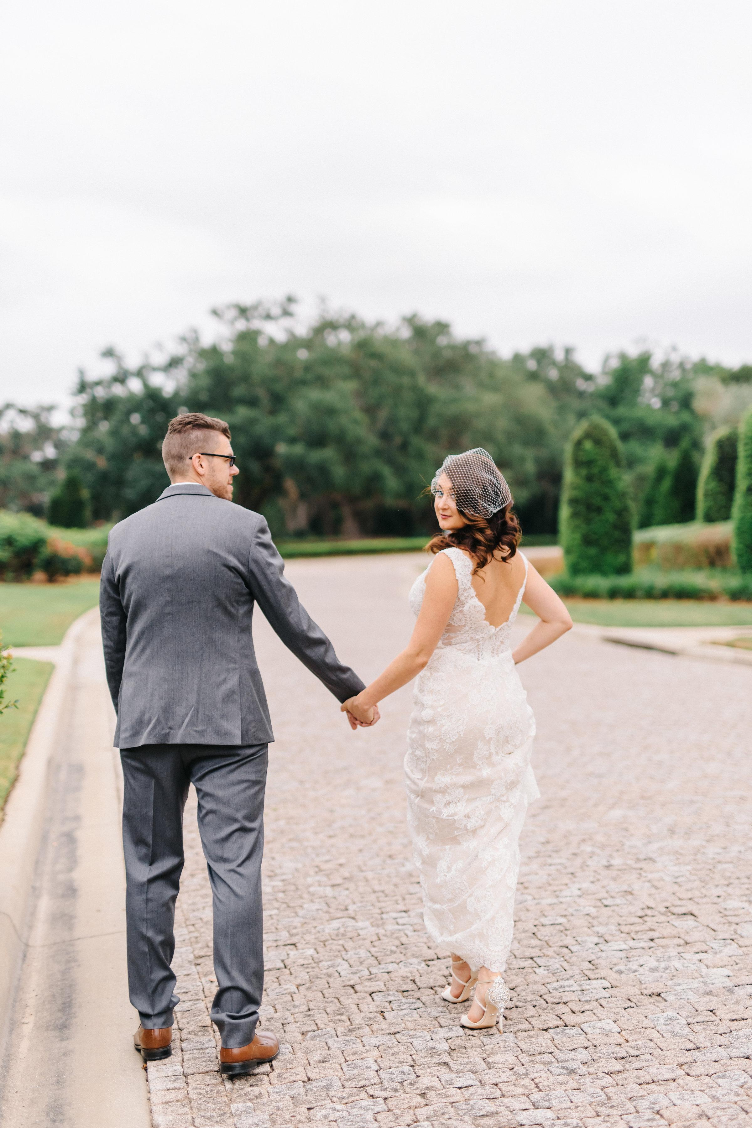Tuscan inspired wedding  Orlando Wedding Planner Blue Ribbon Weddings  Orlando Wedding Photographer Emma Shourds Photography  Wedding Ceremony at Bell Tower at Bella Collina  Wedding Reception in Atrium at Bella Collina