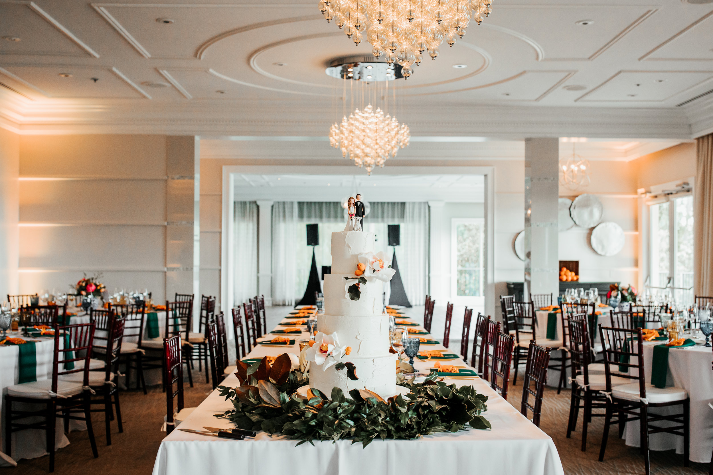 Lake Nona Golf And Country Club Wedding Reception