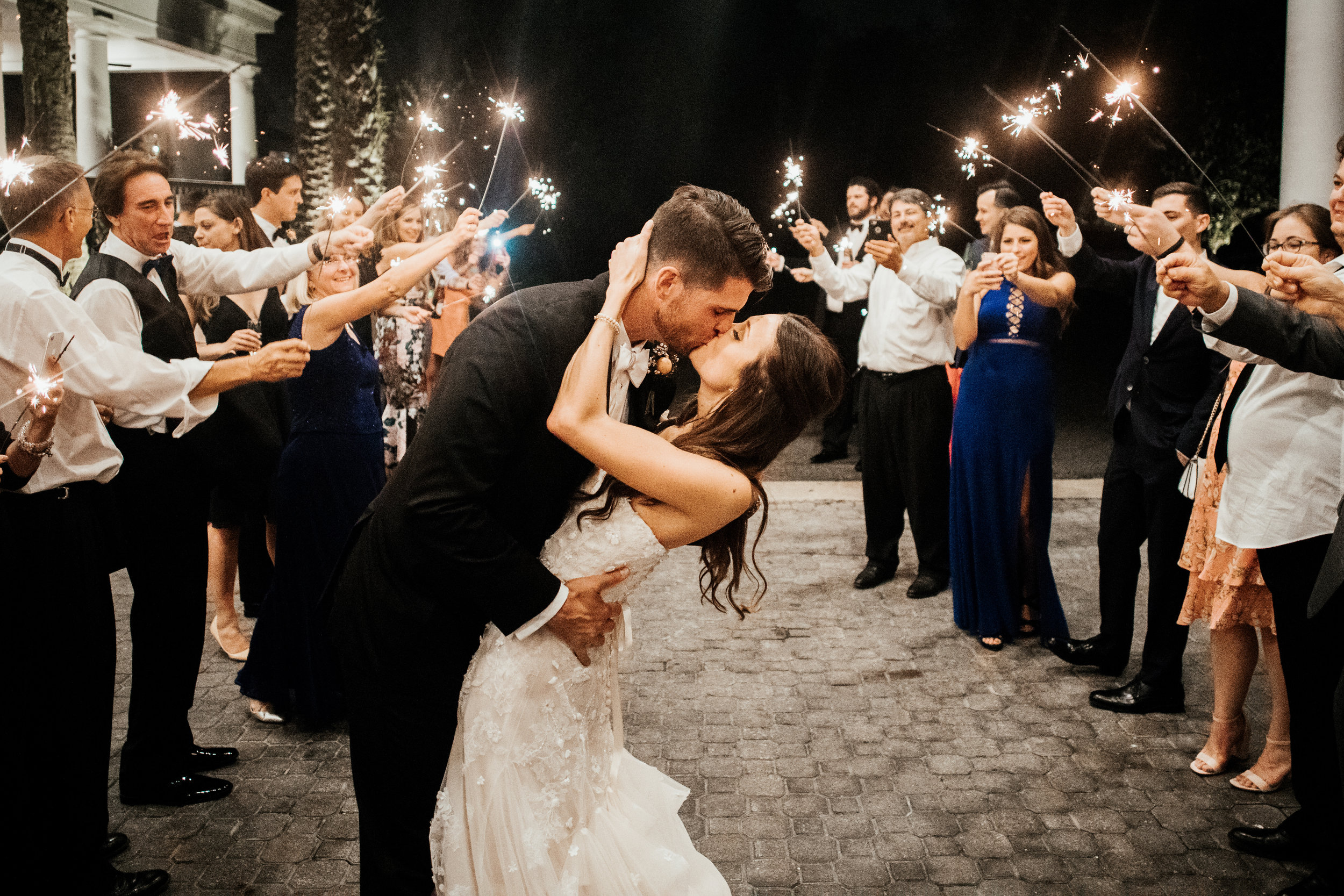 Lake Nona Golf And Country Club Wedding Sparklers