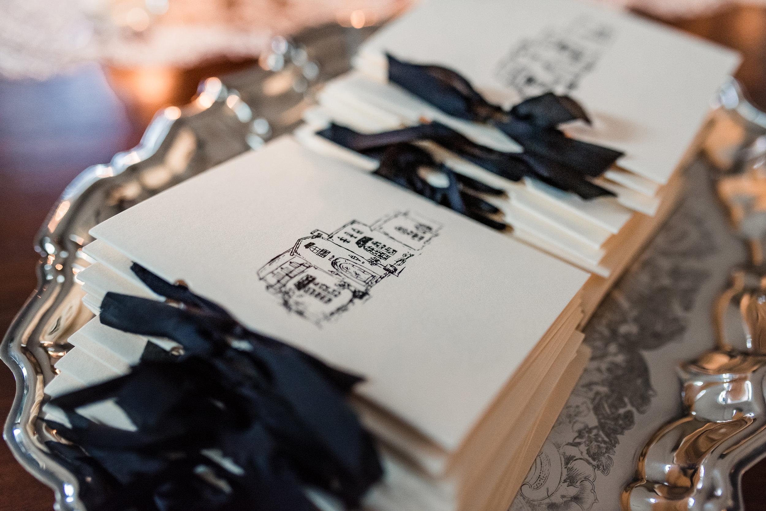 Winter Park Home Wedding Ceremony Programs