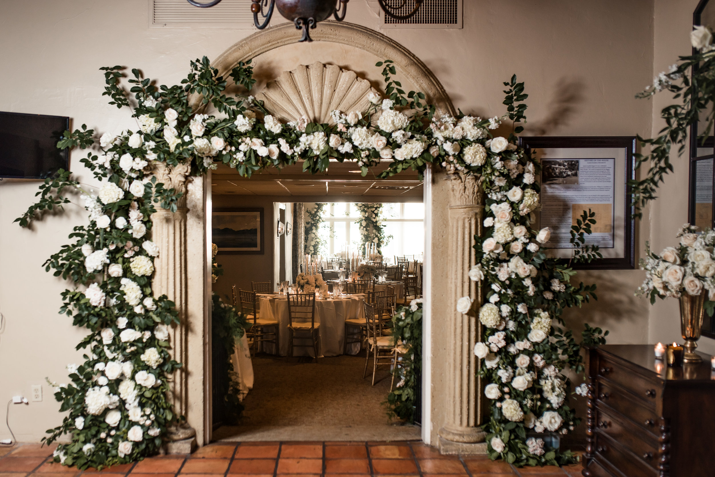 Winter Park Racquet Club Wedding with Velvet & Twine Florals, Planning by Blue Ribbon Weddings