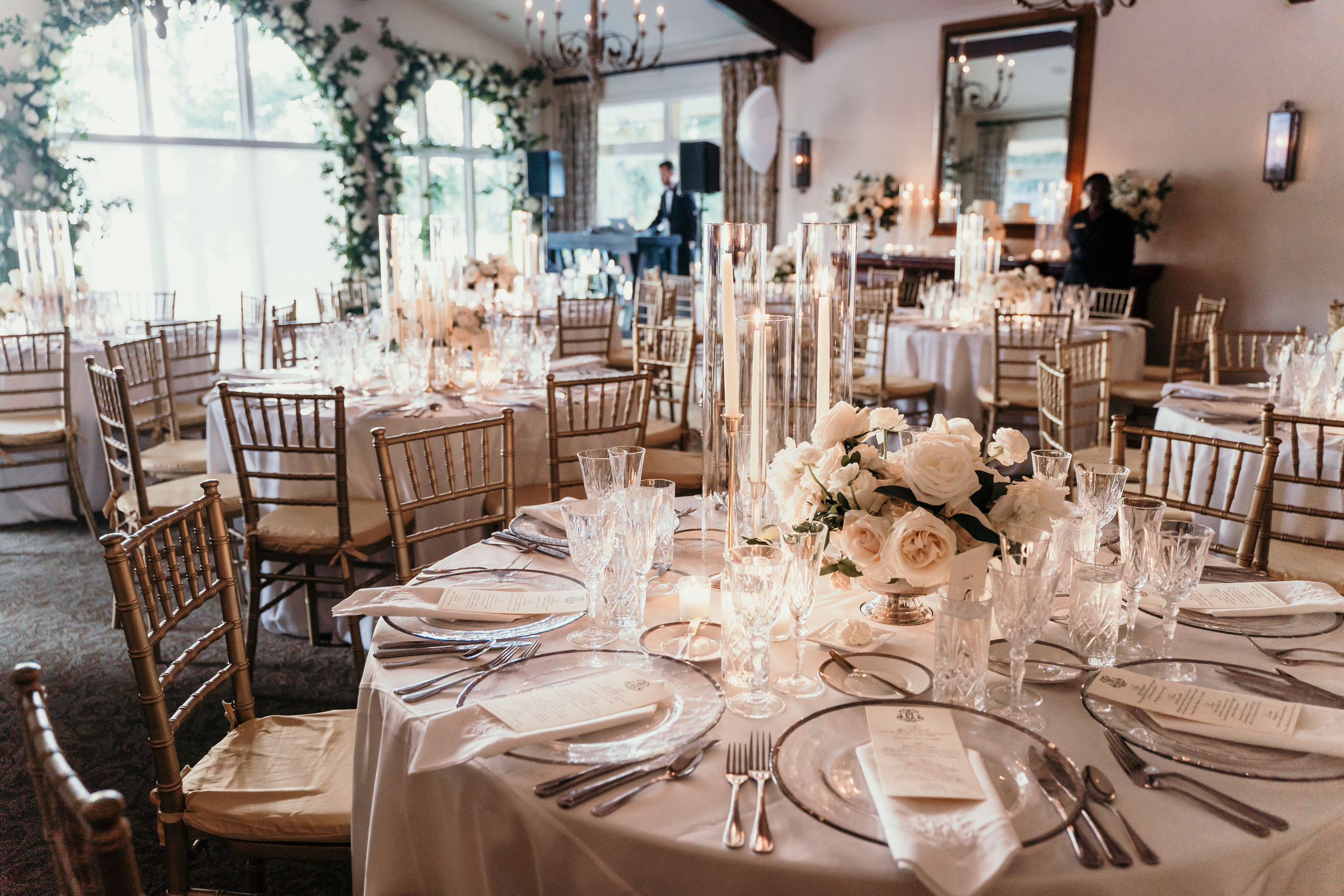 Winter Park Racquet Club Wedding Reception Planning & Design by Blue Ribbon Weddings