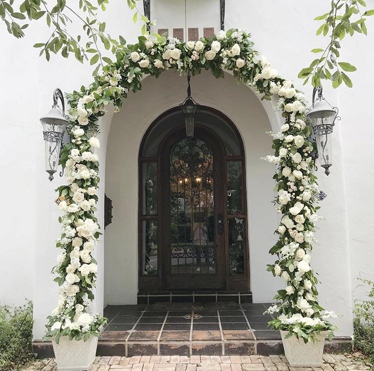 Winter Park Home Wedding Velvet & Twine Florals, Planning & Design by Blue Ribbon Weddings