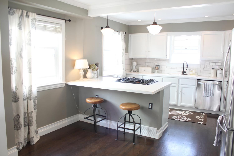 New Kitchen Drapes The Fat Hydrangea