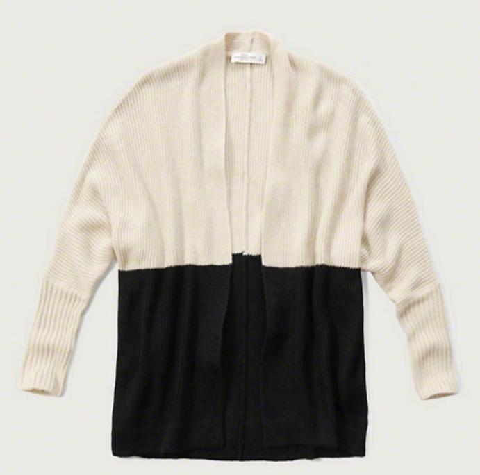 Colorblock Dolman Sweater