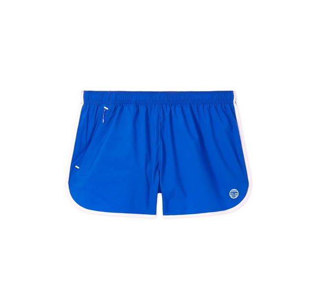 Nylon Curved-hem Shorts