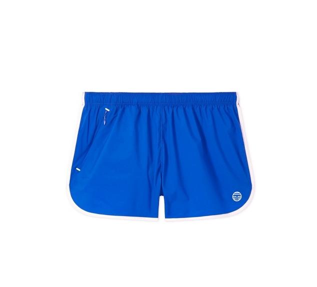 Nylon Curved-hem Shorts