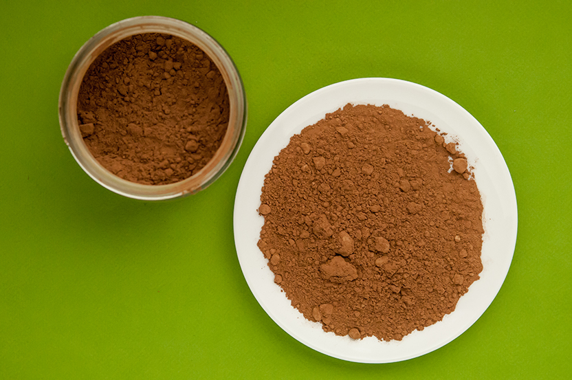 raw cacao powder