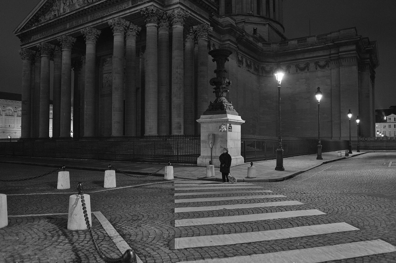 Pantheon Paris B&W Alain Le Kim
