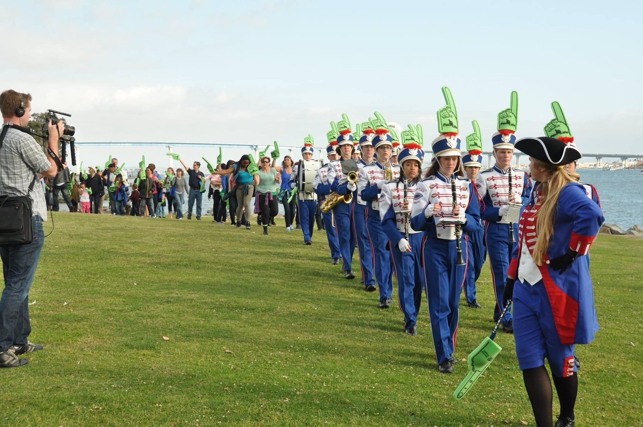 FFL Xtian high patriot marching band!.jpg