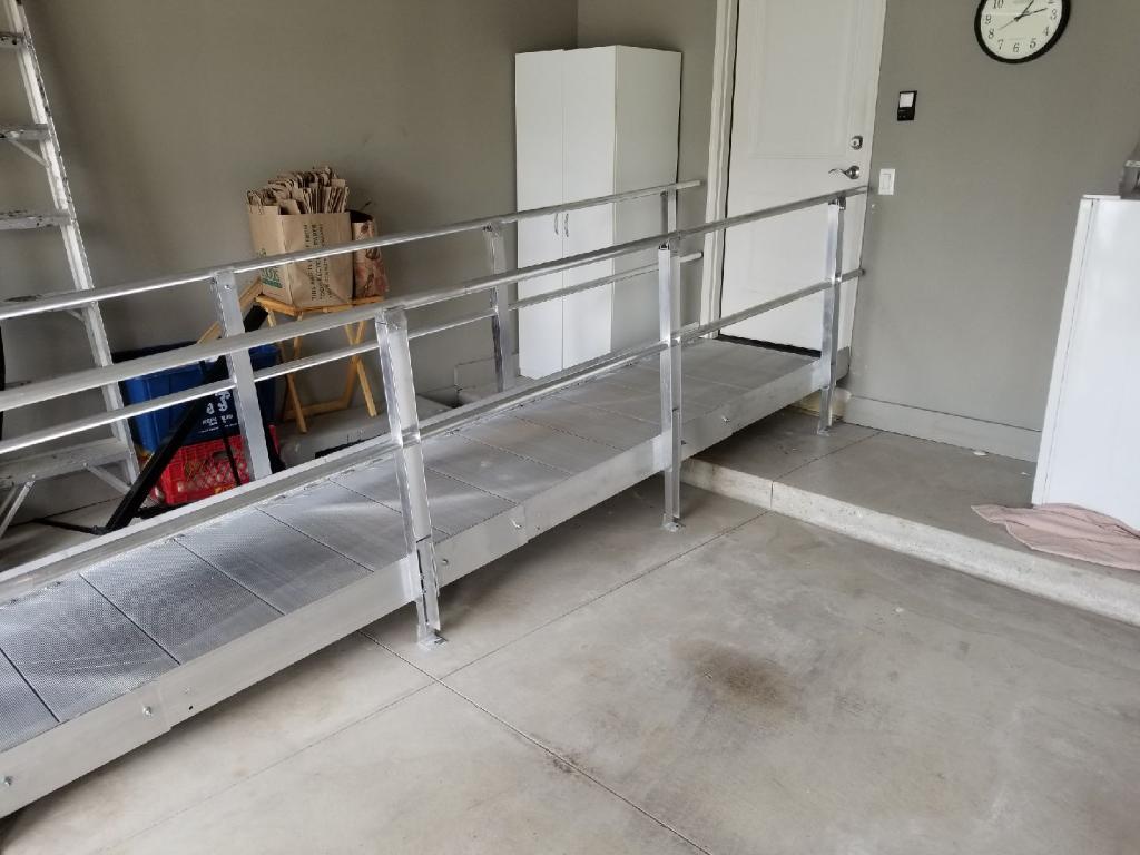 Aluminum Ramp - View 2