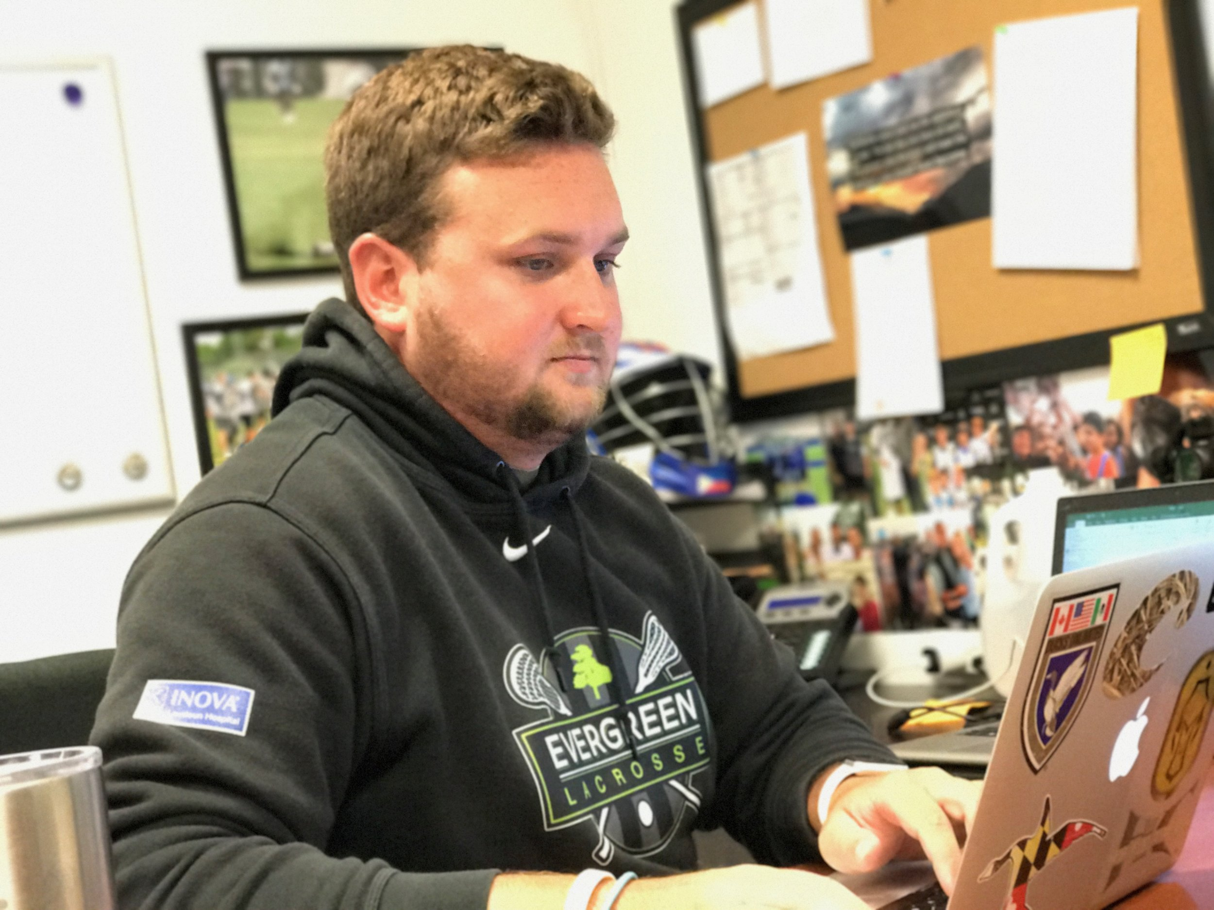 Kellen McCarthy, Woodgrove Assistant Coach