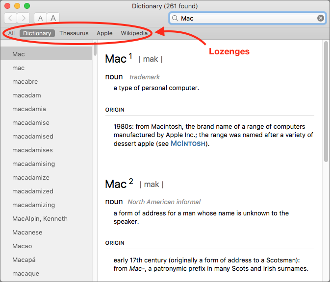 Dictionaries For Mac Os
