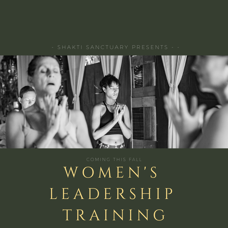 Join the movement! Shakti Sanctuary presents a six month distance learning training program that ends on site at a retreat of your choice
