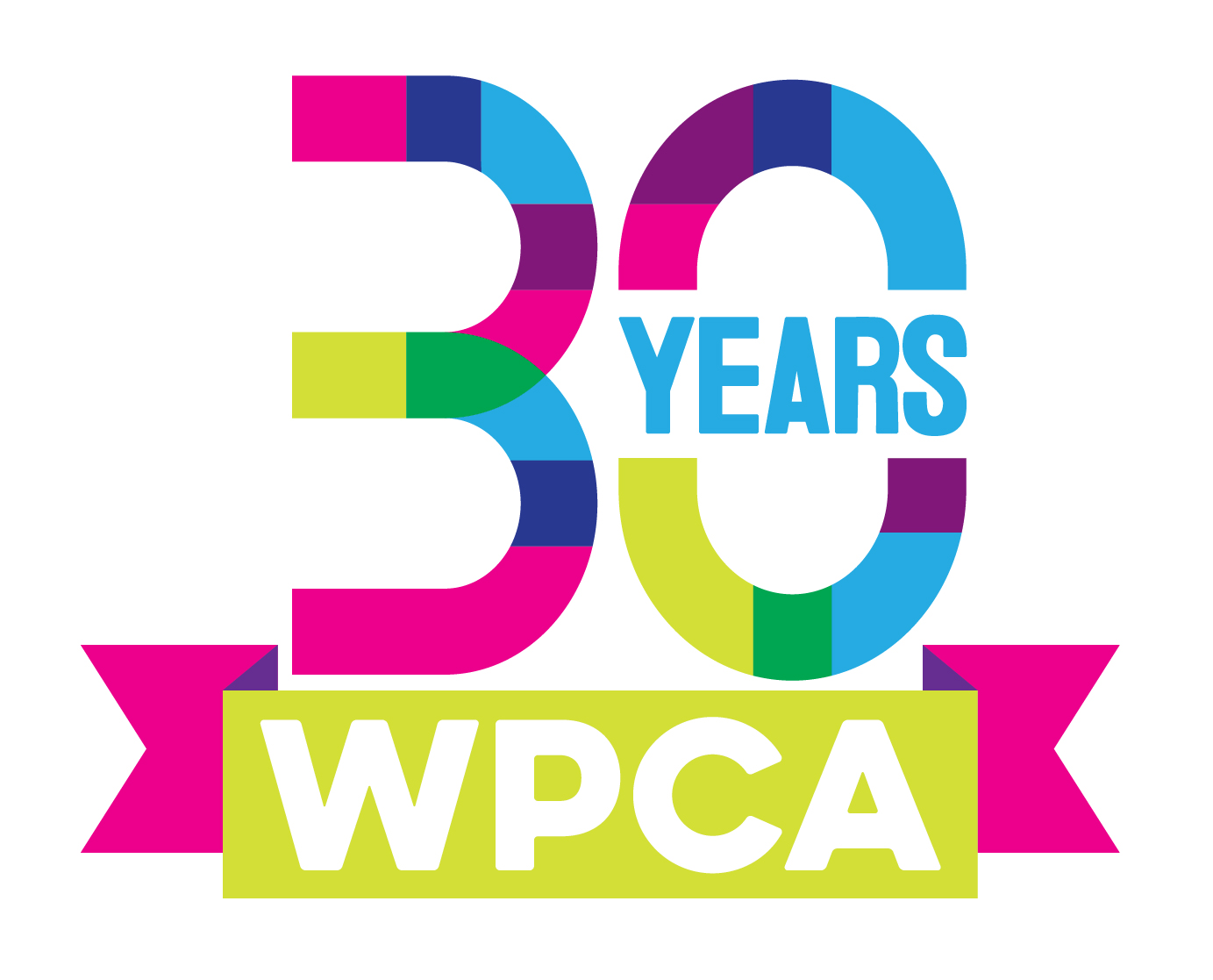 Walker's Point Center for the Arts 30th anniversary logo