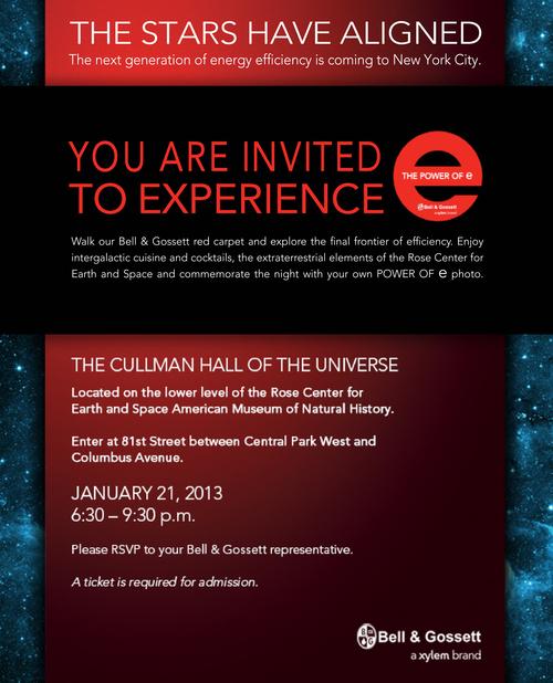 Bell & Gossett invite