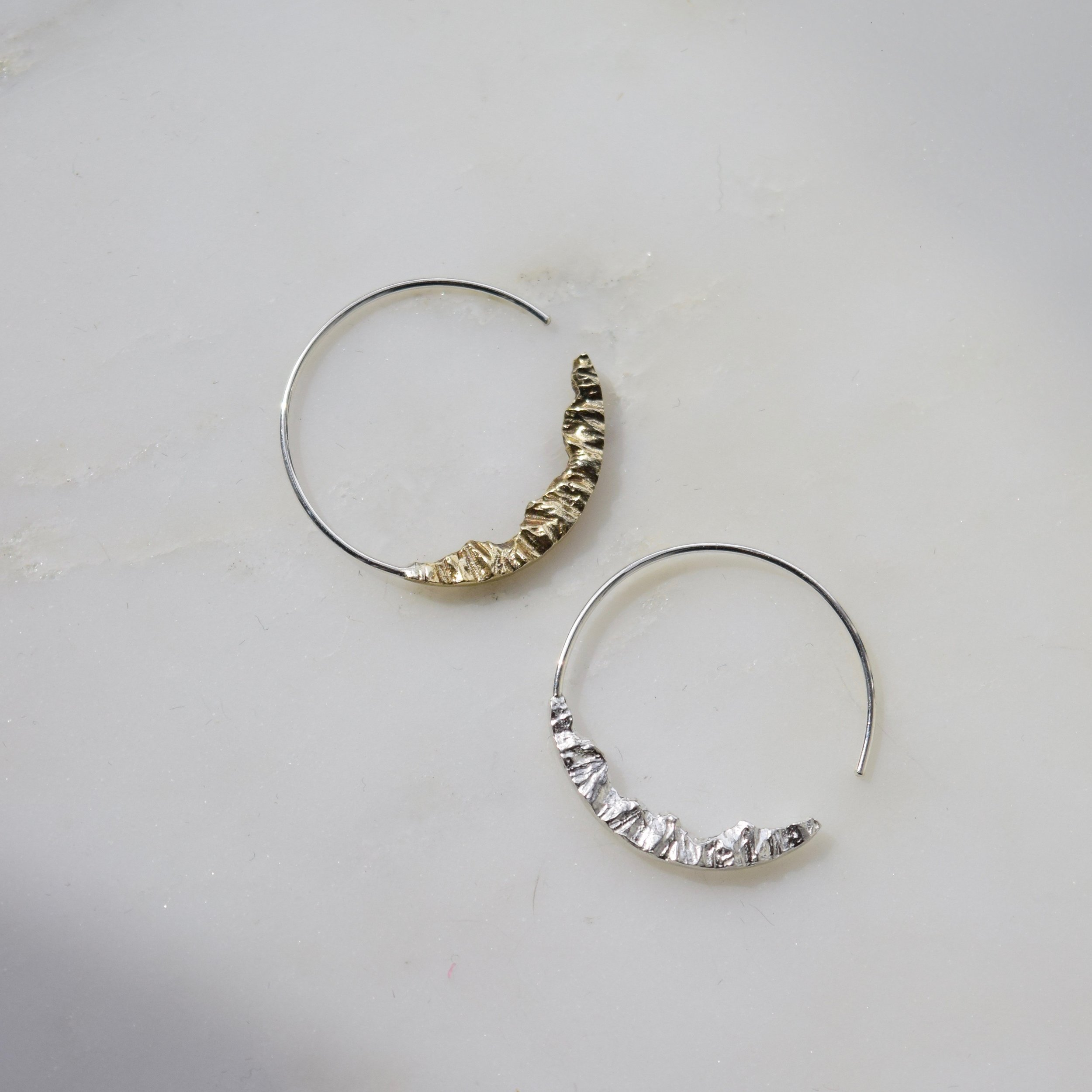 These mountain hoops for her adventurous spirit