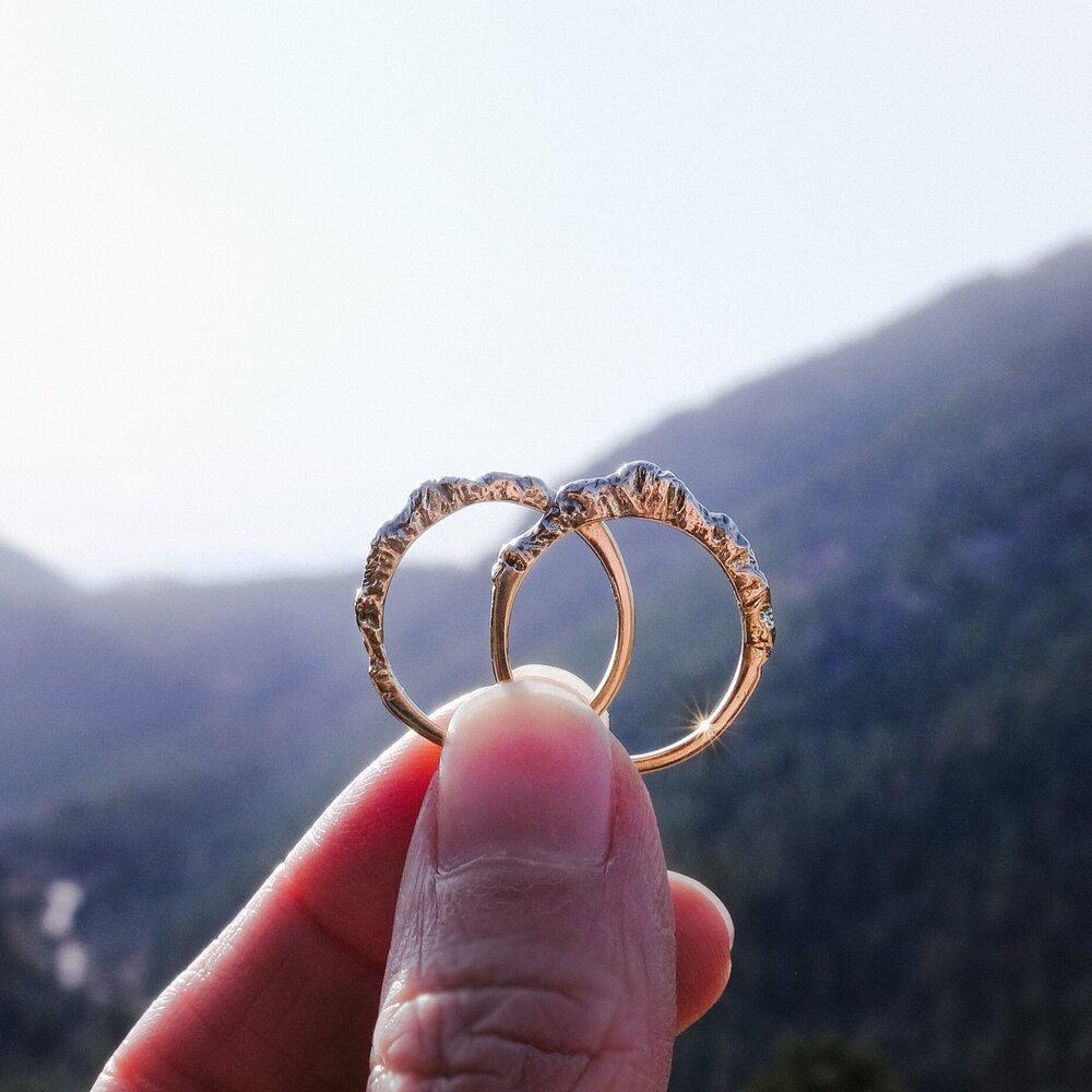 mountains Mountain adjustable ring