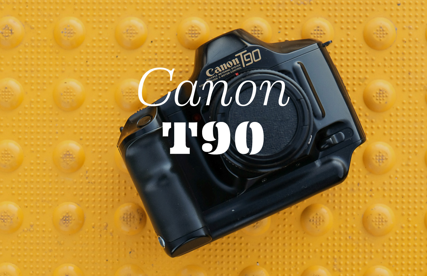 """The """"sexy tank"""" from 1986 that established the template for high-end SLRs for over 30 years."""