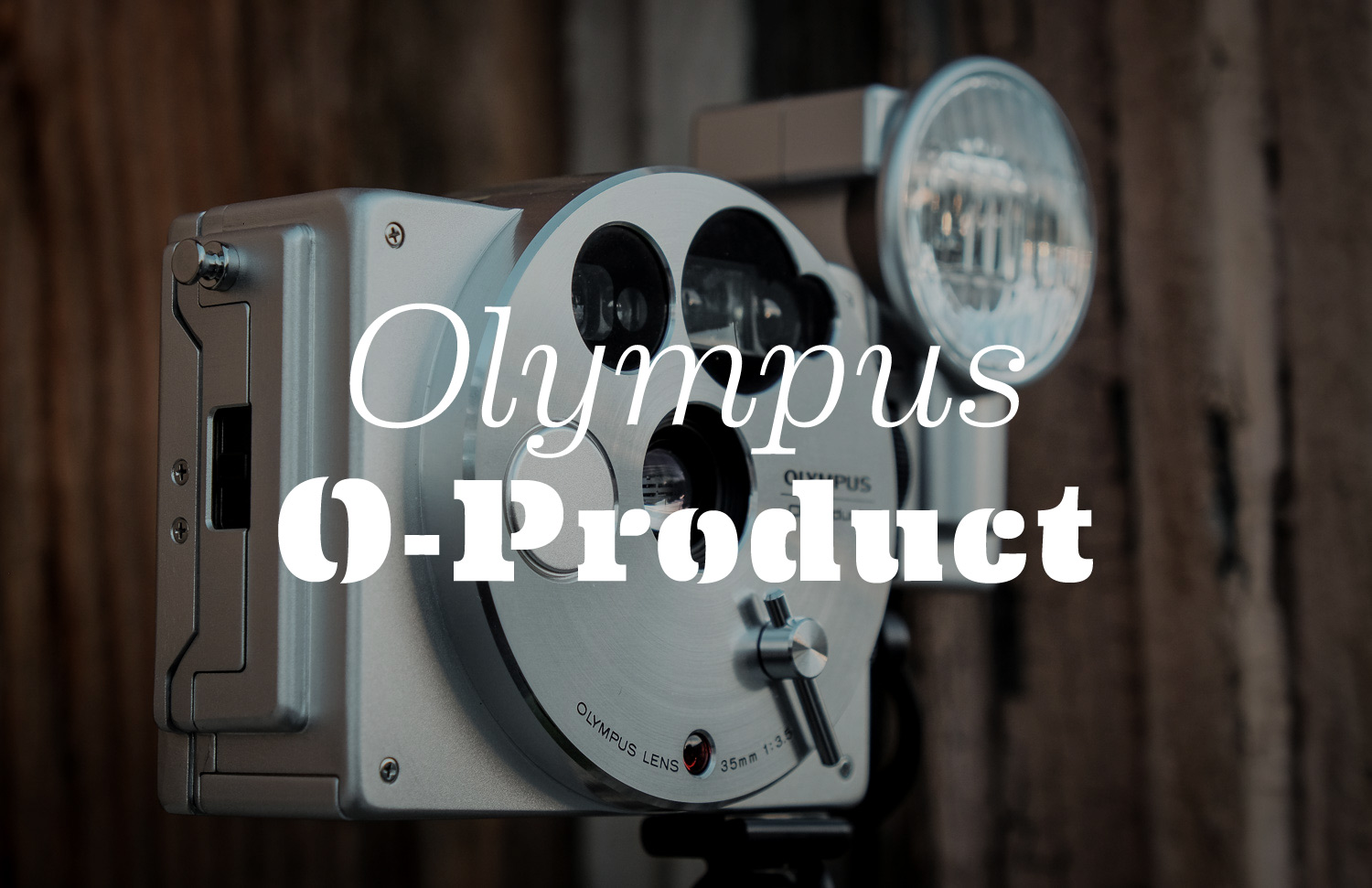 Long before today's retro-styled cameras, there was the quirky O-Product from 1988.