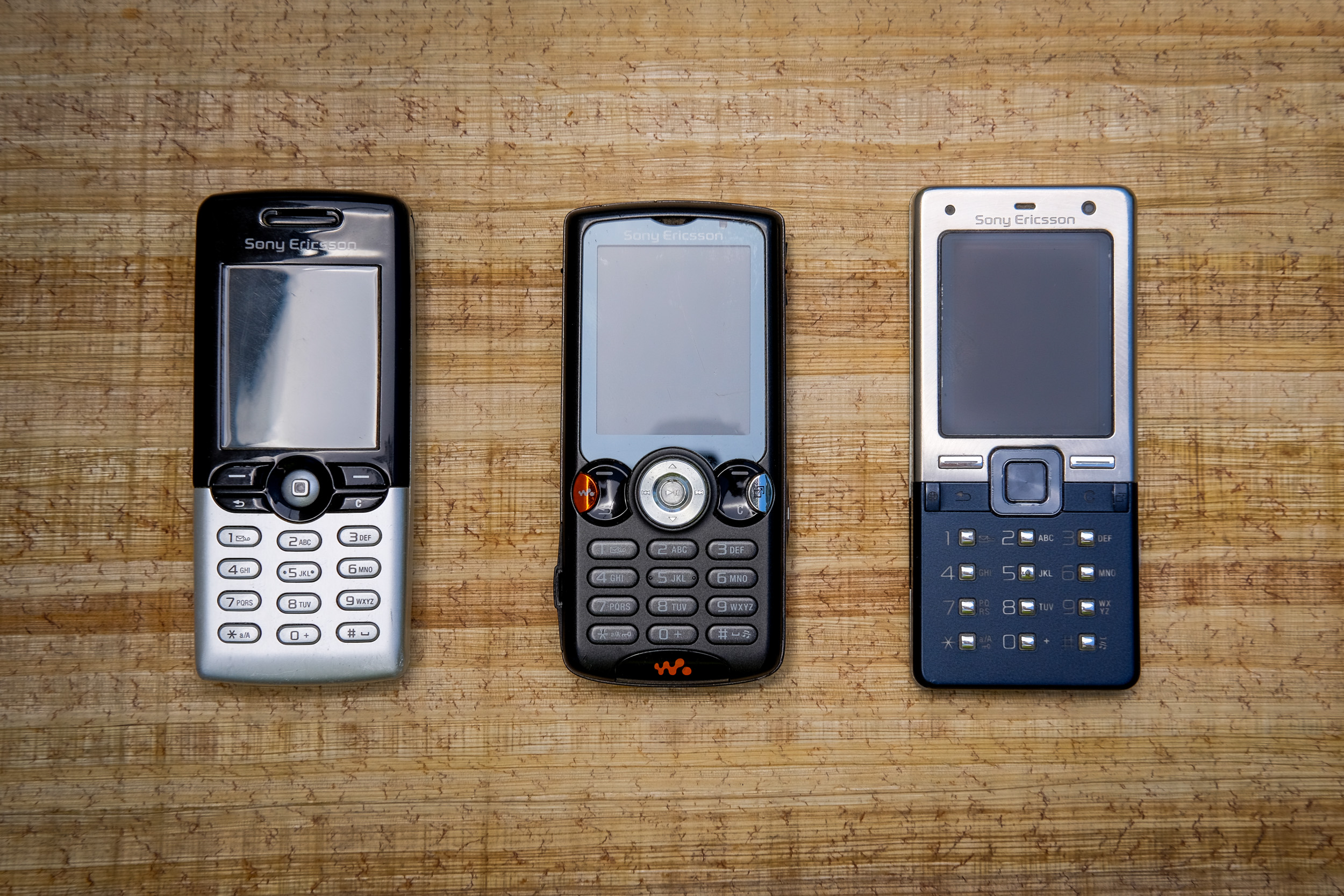 T610, W810, and T650i