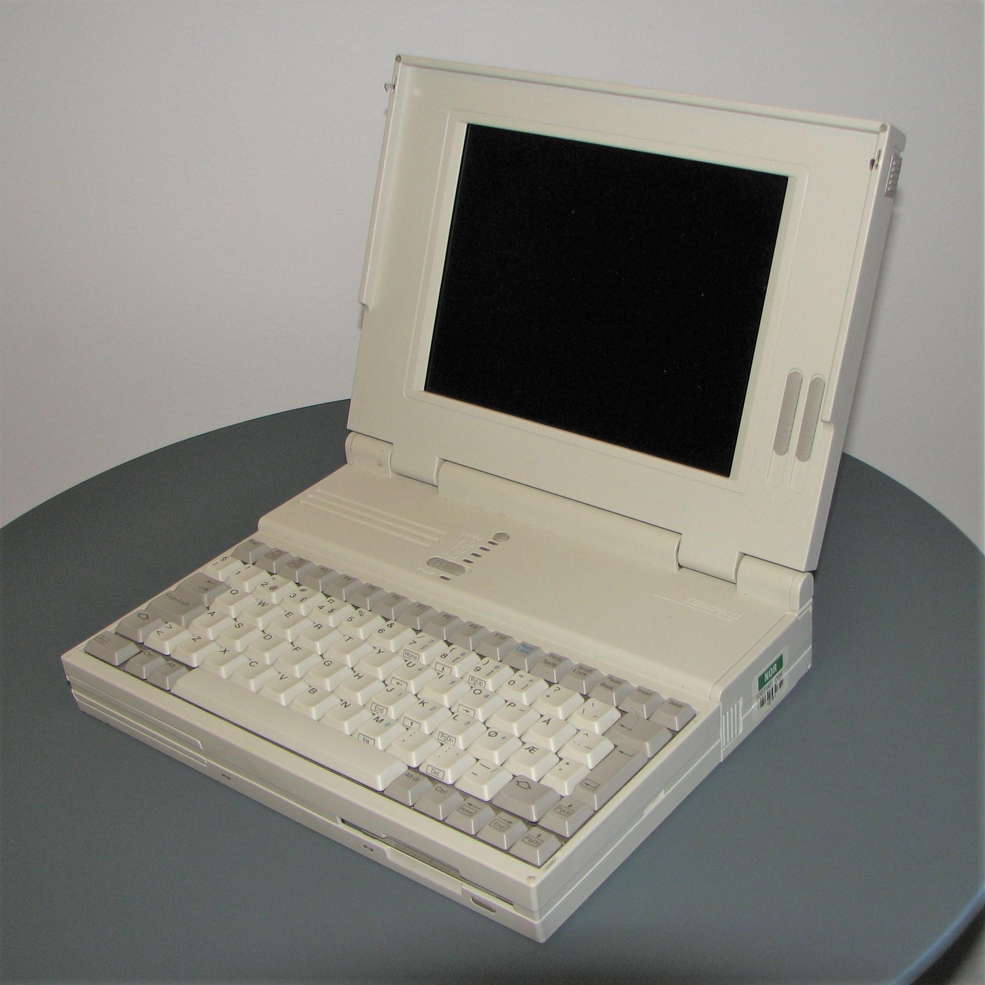 Compaq LTE, 1989 (image: Wikipedia)