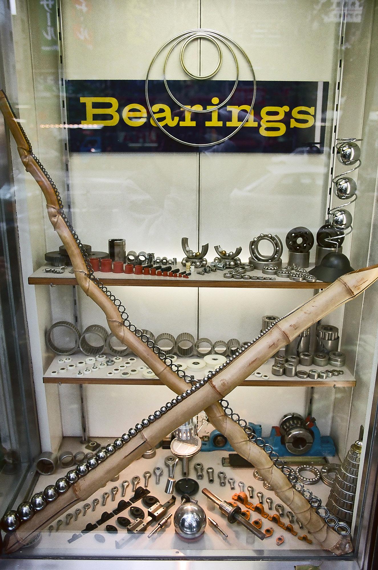 Ball bearings display