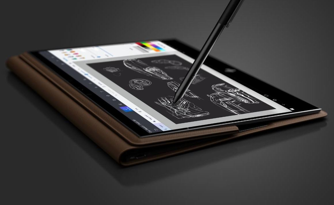 HP Spectre Folio in tablet mode