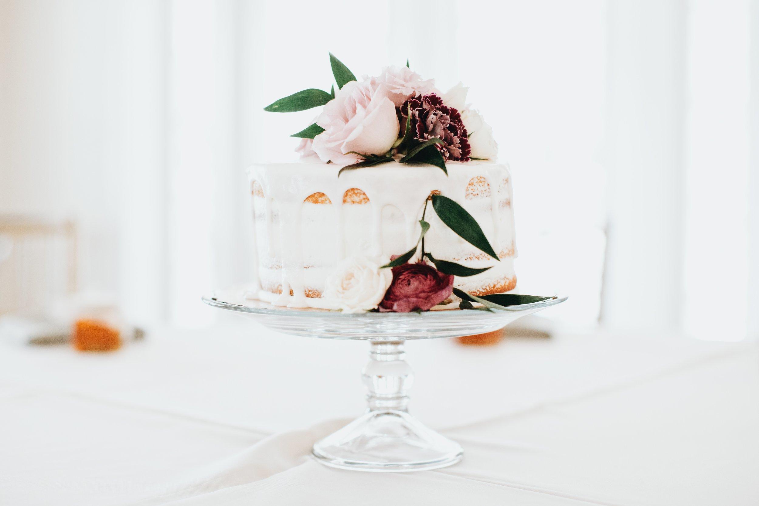 Publix naked cake