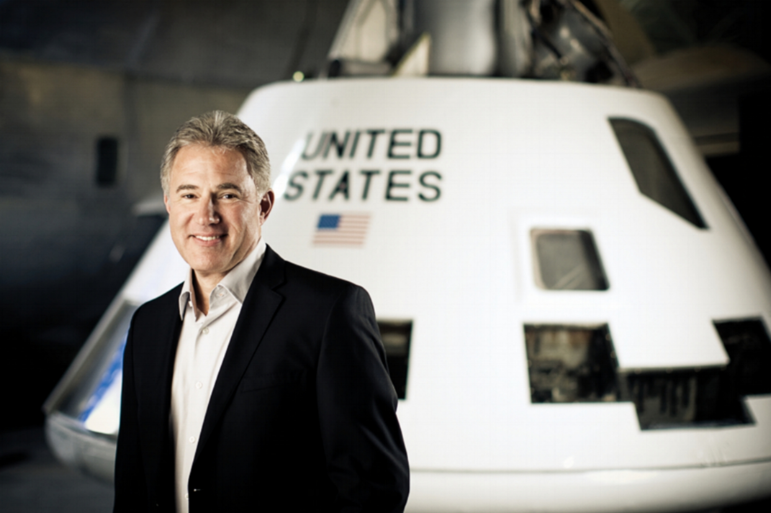 Dr James Logan--Chief, Spaceflight Medical Officer
