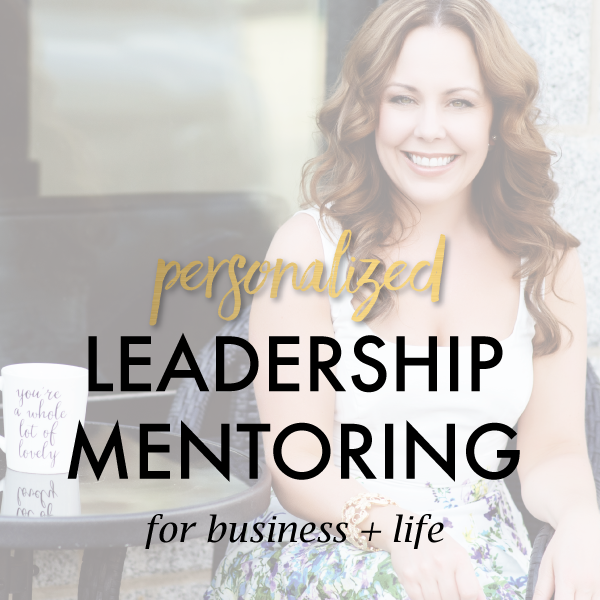 leadership mentoring for women jami young