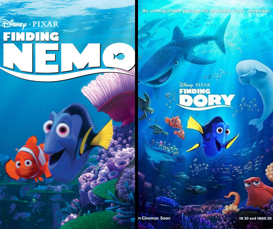 Finding Nemo 2003 And Finding Dory 2016 At 2pm 7pm 5 Double Feature Austin Area Arts