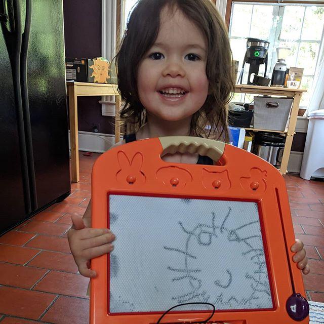 """Mama! I draw you!"" 😭😭😭"