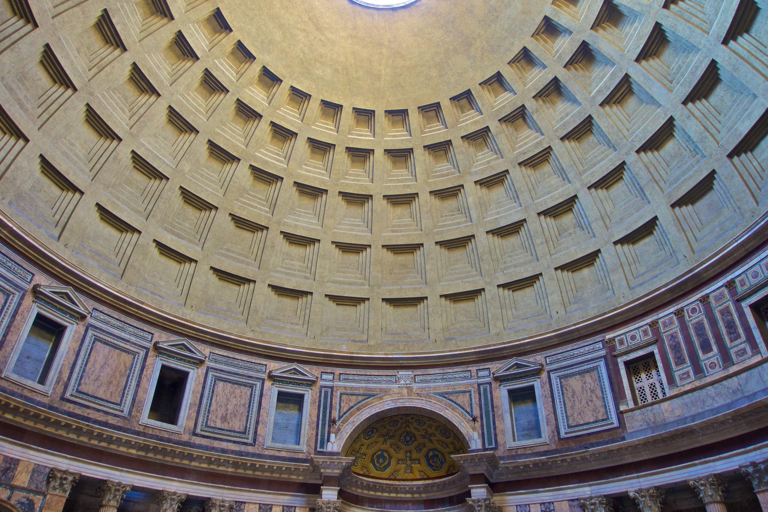 Pantheon Dome, Rome