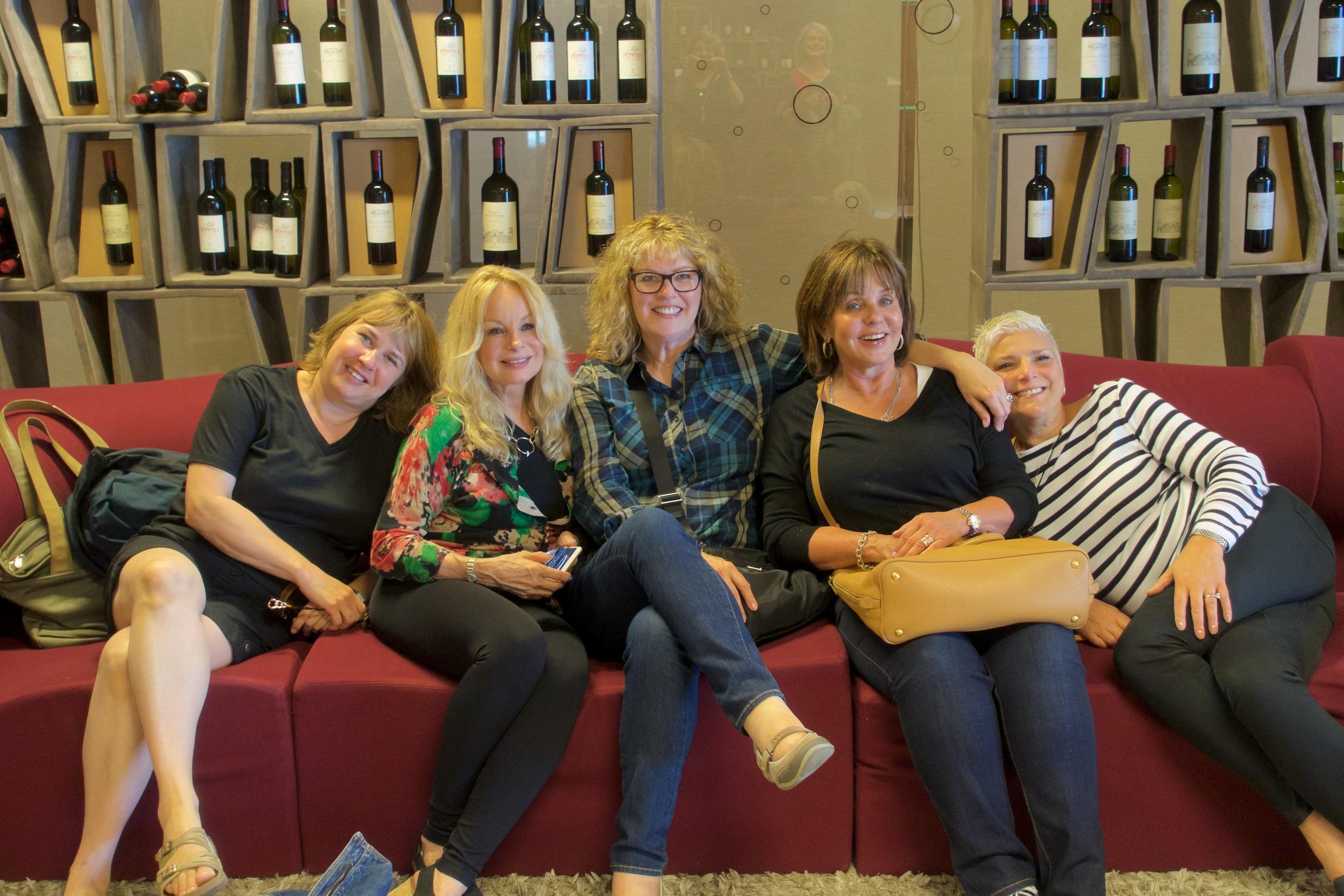 Some goofballs at Antinori Winery, Chianti