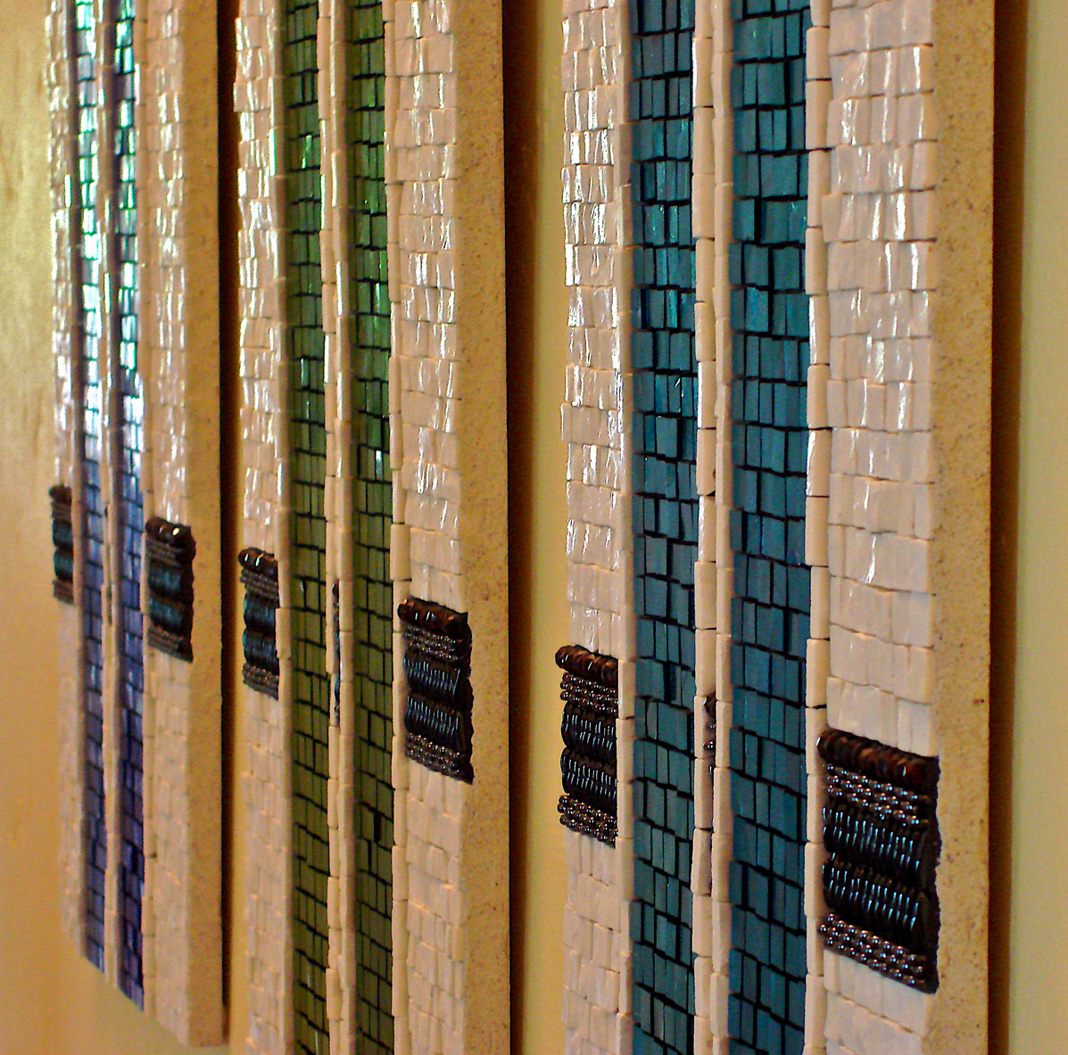 Etude  , detail (2007)My first attempt to  Think Mosaic!