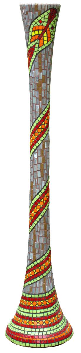 """Snake Vase  (2006)40"""" x 9"""""""