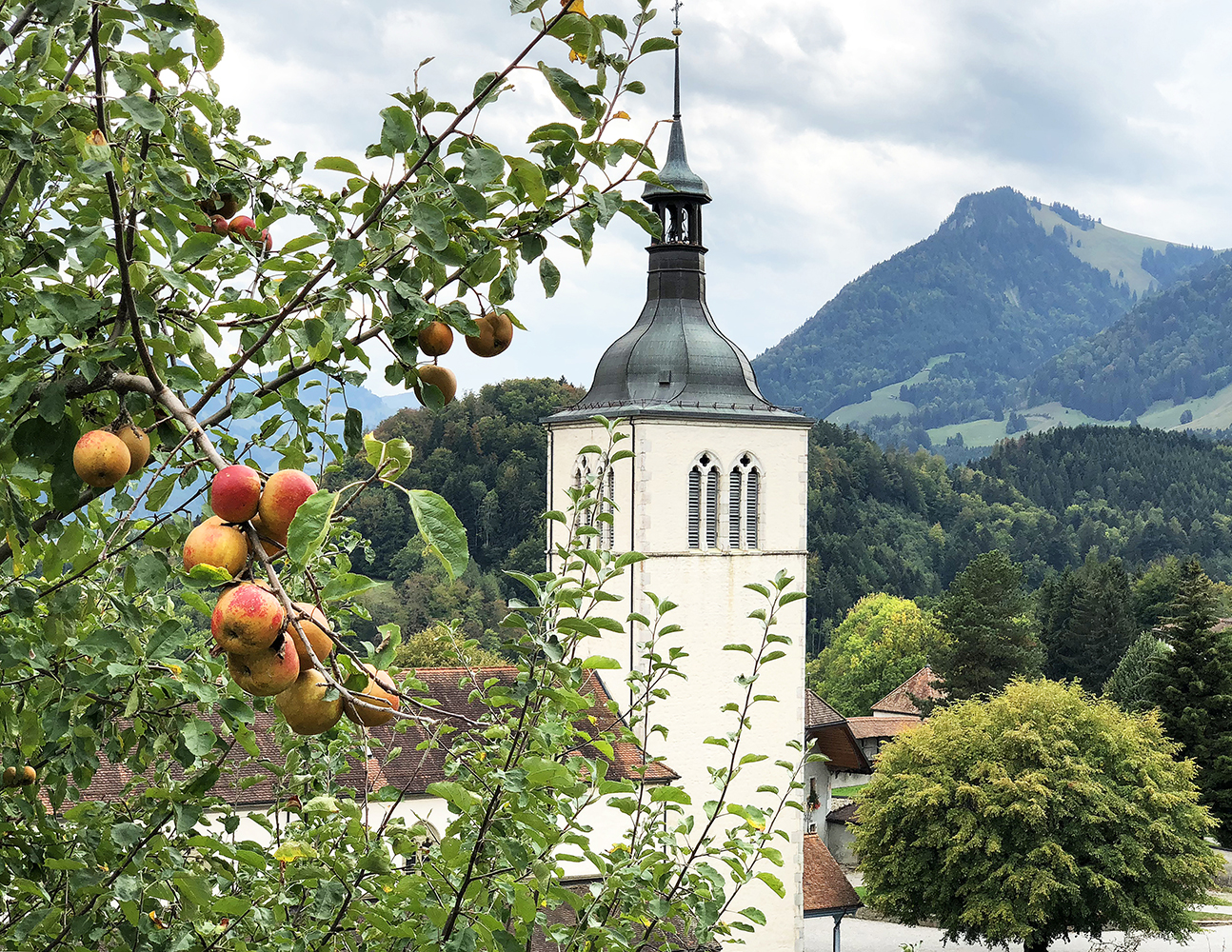 St. Theodul Church, Gruyères, Switzerland