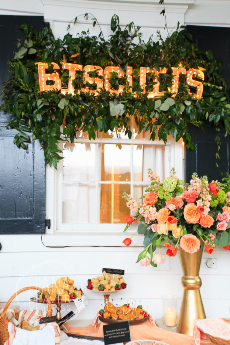 Biscuit Bar for a wedding! Robinhood Meetinghouse biscuits