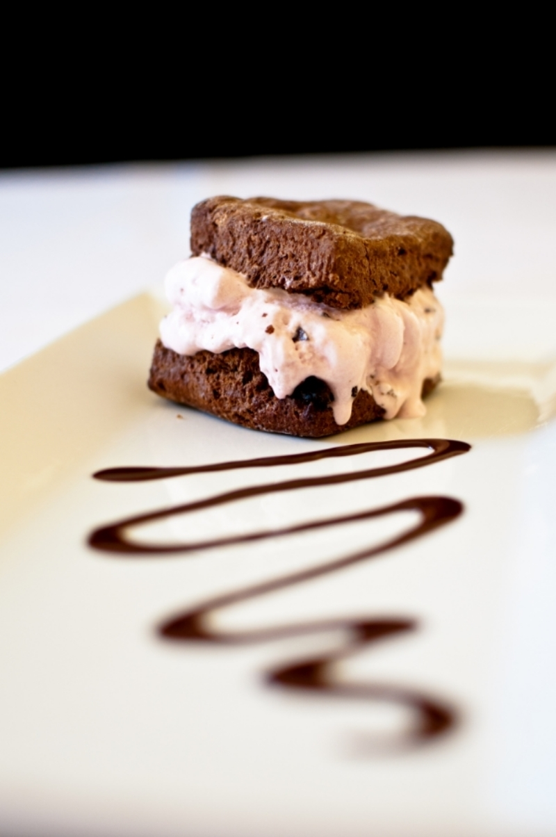 Double Chocolate Biscuit Ice Cream Sandwich