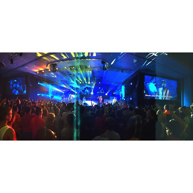 Session 1 @bigstufcamps was on point! #WeAreCamp1 #BigStuf2015