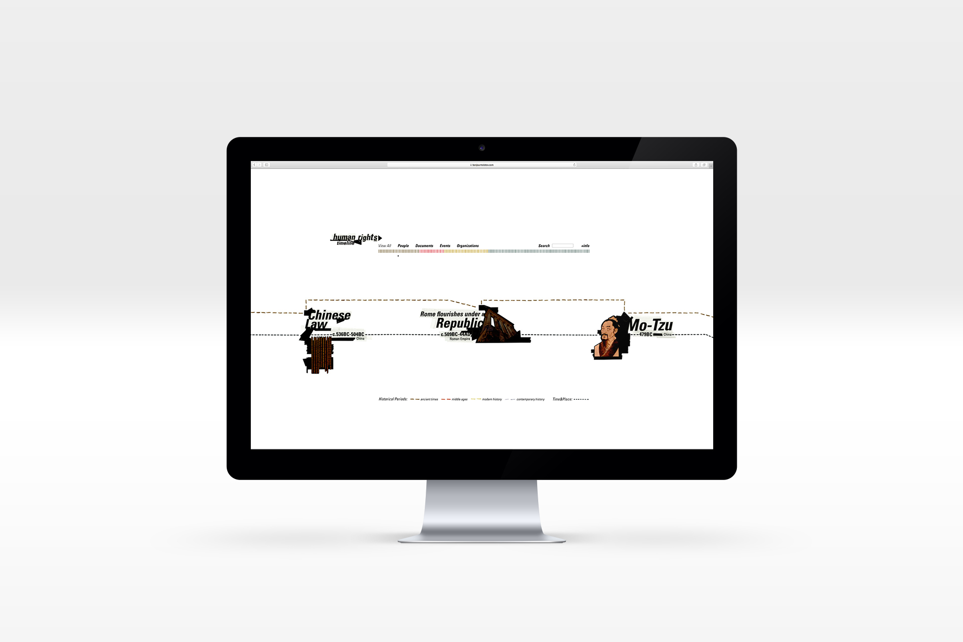 Human rights timeline website graphic web design illustration bonjourmolotov.jpg
