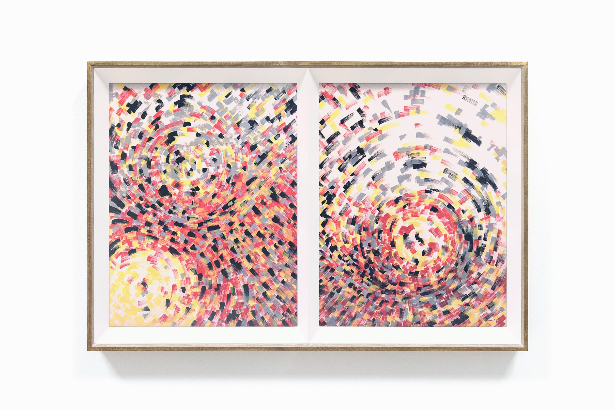 bonjourmolotov Crowded series series Illustration Ilustracao painting pintura acrylic acrílico canvas tela paper cardboard mdf Andre Gigante 04N14.jpg