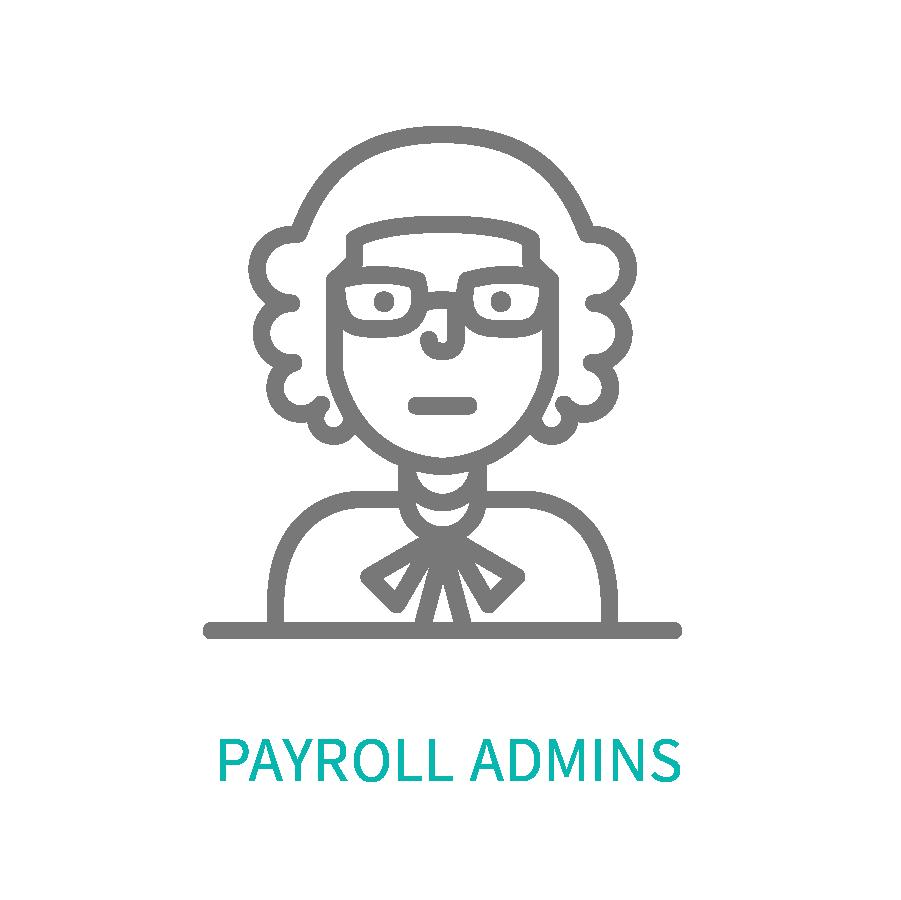 Female head shot representing Payroll Administrators that use Dominion.