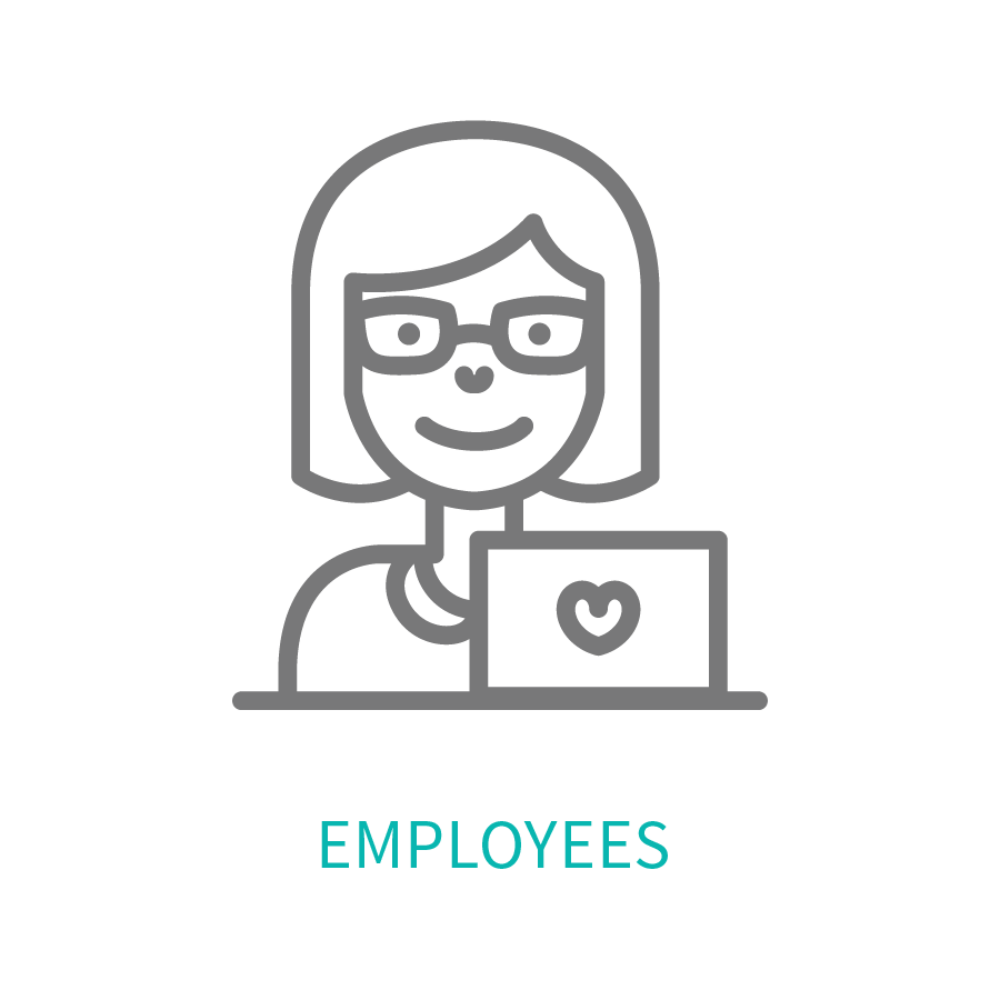 Female head shot representing Dominion's clients' employees.