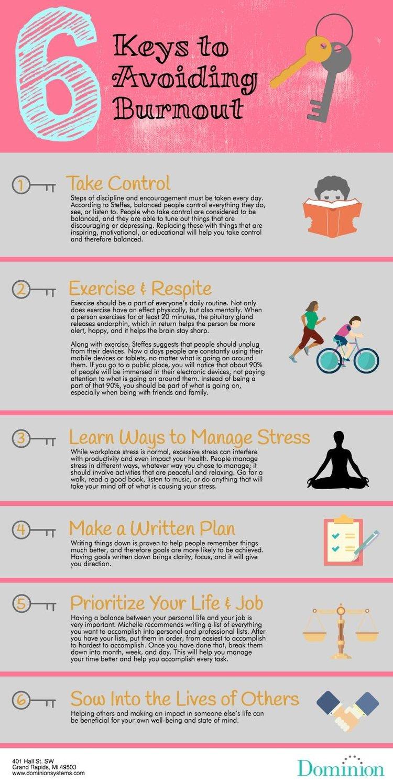 6 Keys to Avoiding Burnout