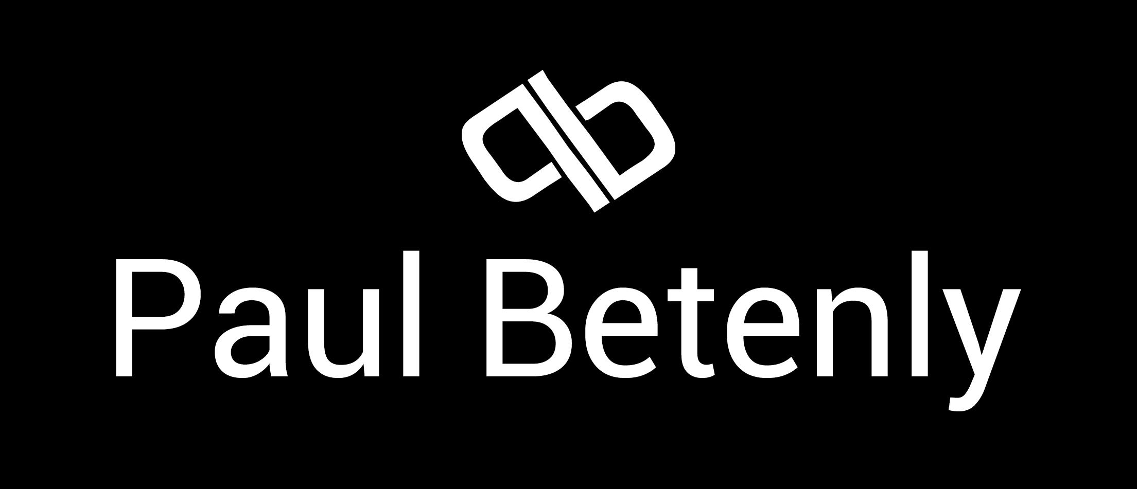 Paul Betenly Logo-2017FinalBW.png