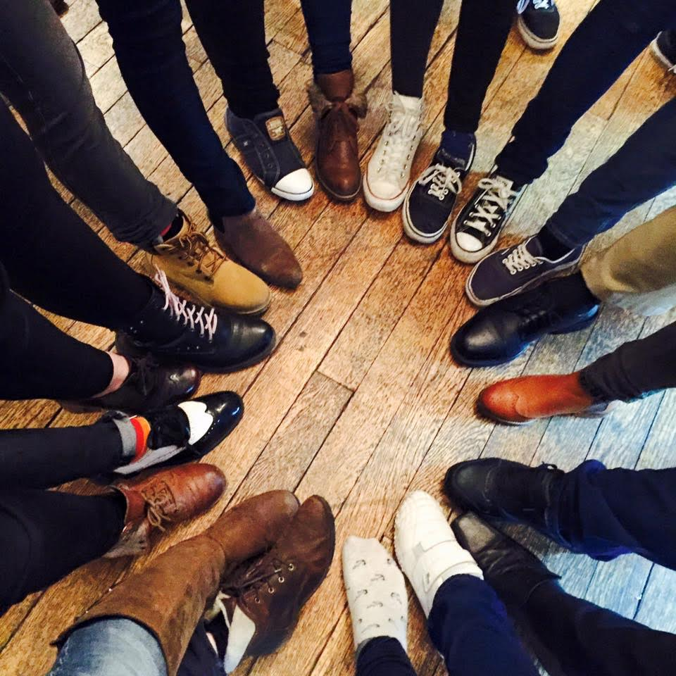 Diverse Church members often record their meetings with hand or foot circles to retain confidentiality